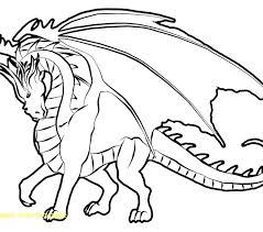 Dragon Coloring Pages To Print Printable Page With