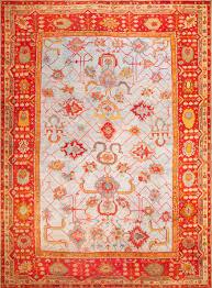 Beautiful Antique Arts and crafts Turkish Oushak Rug