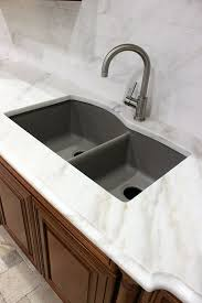 Kitchen Sink Drama Features by White Marble Blanco Sink Granite Composite Sink Remodel