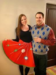 Picture Of Red Christmas Tree Skirt With Ornaments Turns Into A Midi One