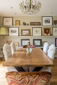 Picture Ledge Dining Room Rustic With Frames Wall Layout Shelves