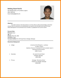 11+ Resume Samples Philippines | Resumes | Resume Format Examples ... 021 Basic Resume Template Examples Writing Simple Rumes Elegant Attorney Samples And Guide Resumeyard Hairstyles Amazing Top Templates Best By Real People Dentist Assistant Sample A Professional Sample With No Work Experience 15 Easy Resume Examples Fabuusfloridakeys 7 Food Beverage Attendant 2019 Word Pdf Wordpad Lazinet Mplates You Can Download Jobstreet Philippines Sales Representative New Manufacturing Operator Velvet Jobs Midlevel Software Engineer Monstercom