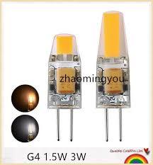 g4 led 12v ac dc cob light 1 5w 3w high quality led g4 cob l