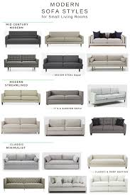 Crate And Barrel Petrie Sofa Cleaning by Small Home Style Sofa Shopping 101 U2014 Chic Little House