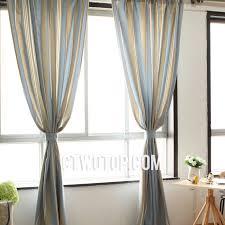 Striped Curtain Panels 96 by Ba Nursery Decor Beige Romantic Dreamy Blue And Curtains Custom