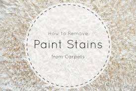 How Remove Paint From Carpet by How To Remove Paint From Carpet Short Stop Chem Dry