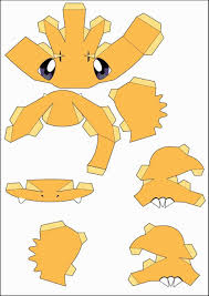 3d Origami Pikachu Instructions Pokemon Templates Rhcom For Kidshow To Make Paper Rhpapercraftsquarecom Papercraft