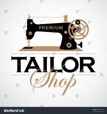 Retro Sewing Machine Vintage Tailor Logo TemplateTailor Shop Theme