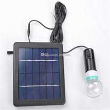 best portable cing solar led home lights with single light bulb