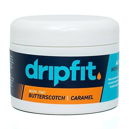 Drip Fit Cream (240ml) - 100% Natural Sweat Intensifier (Butterscotch)