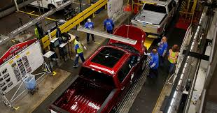 Ford Could Reopen Two US Truck Plants Next Friday Michigan Supplier Fire Idles 4000 At Ford Truck Plant In Dearborn Tops Resurgent Us Car Industry 2013 Sales Results Show The Could Reopen Two Plants Next Friday F150 Chassis Go Through Assembly Fords Video Inside Resigned To See How The 2015 F Announces Plan To Cut Production Save Costs Photos And Ripping Up History Truck Doors For Allnew Await Takes Costly Gamble On Launch Of Its Pickup Toledo Blade Plant Vision Sustainable Manufacturing Restarts Production
