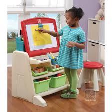 Step2 Art Easel Desk Instructions by Step2 Flip U0026 Doodle Easel Desk With Stool Lime