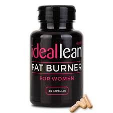 IdealLean Fat Burner For Women, Green Coffee Bean, Green Tea, L-Carnitine,  CLA, 60 Servings