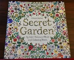 I Finished The Front Of Cover My Secret Garden Coloring Book Last Night