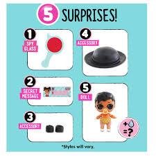 100 Little Sisters Truck Wash LOL Surprise Eye Spy Lil 12 Walmartcom