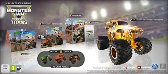 100 Monster Truck Grave Digger Videos Jam Steel Titans Receives A Release Date Just Push