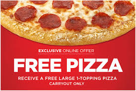 Hurry Tomorrow 5 30 Is The Last Day To Get A 100 FREE Large Round Hungry Howiess Pizza Carryout Only You Pay Zero Out Of Pocket And No Purchase
