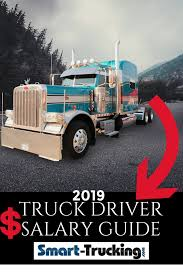 100 Truck Driver Average Salary 2019 Reference Guide The Only One You