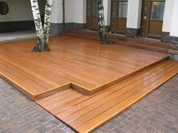 Patio Flooring Materials Outdoor Porch Wood