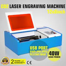 high promotion 40w co2 laser engraving cutting machine engraver