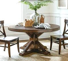Barn Dining Tables Pottery Room Table Pedestal With Regard To