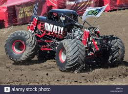 100 Monster Truck Jam 2013 A Monster Truck Performing A 360degree Spin Move At A
