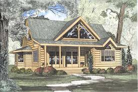 Cabin House Plan Log Plans With Loft