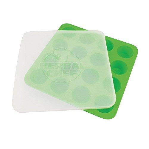 Herbal Chef Silicone Concentrate Tray with Lid - Green