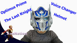 Best Halloween Voice Changer by Optimus Prime Transformers The Last Knight Voice Changer Mask