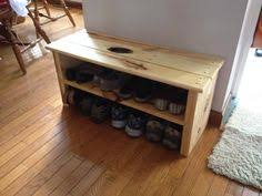A Sturdy And Classic Rustic Style Bench With Space For Shoes Boots This Is Longer Version Of Our Popular Boot We Build Each Benc