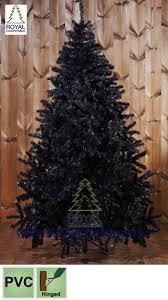 Black Artificial Christmas Tree Maine