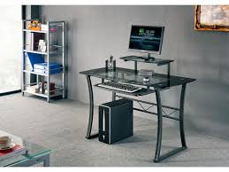 bureau informatique bureau informatique magellan mdf verre trempé 8mm