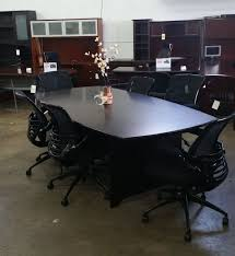 Realspace Outlet Magellan Performance 8-Ft. Boat-Shaped Conference Table,  29 15/16