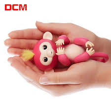DCM Fingerlings Unicorn Interactive Monkey Talking Hamster Pet Fingerling Baby Monkeys Colorful Kids Best Gifts Toy