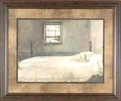Wyeth Master Bedroom Master Bedroom Gallery Quality Framed Print Dog