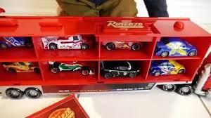 Disney CARS TOYS Mack Truck Hauler Lightning McQueen Toys Kids Video ...