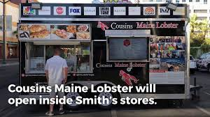 Cousins Maine Lobster To Open Inside 2 Las Vegas Smith's Stores ... Food Truck Cousins Maine Lobster The Menu Diana Santospago Of The Lady Truck On Trapto More Mainers Serving Lobster In Distant Places Portland Press Herald How One Became A Multimillion Opening Brickandmortar Location Smyrna Food Rolls Into Northwest Austin Community Impact Retail Rolling Triangle News Obsver Classic Rolls From Table Culinary School Bite Into Roll Recipe Allagash Brewing Company Rolling Southern Connecticut Hartford Update Shark Tank Youtube Alamo Ranch Association Announcements Come Enjoy