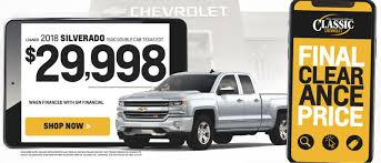 Classic Chevrolet Specials | Chevrolet Offers & Incentives Dallas