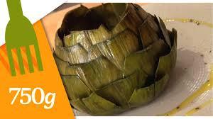 comment cuisiner des artichauts préparer et cuire un gros artichaut 750 grammes