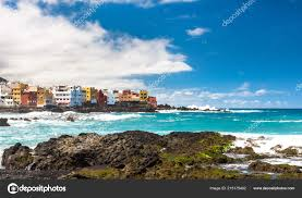 100 Punta Brava View Of Colourful Houses Of From Beach Jardin In