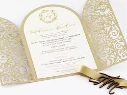 Golden Gate Gold Edition Invitations