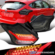 brake l bulb fault 2015 ford focus 2015 2016 ford focus hatchback led chrome smoke lights brake