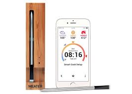 Wireless Smartphone Connected Meat Thermometer video