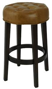 Bar Stools & Kitchen Counter Stools :: Top Grain Leather Tufted ... Fniture Brown Varnished Mahogany Bar Stool Which Furnished With Bar Black Top Grain Leather Upholstered Magnificent Stools Images Ipirations Calvin Art Deco Barstool Kathy Kuo Home View Archives Darafeev Moes Collection Pk6103 Freeman Counter In Light Klein Wback Plantation Unique Rustic Photos Ideas Jeanne Retro Utility High Chair Sh760 Stellar Works Designed By Nerihu