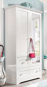 home affaire garderobenschrank lourdes mit spiegel