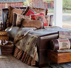 Luxury Rustic Bedding And Cabin