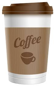 Plastic Coffee Cup PNG Clipart Image