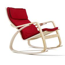 Amazon.com : XITER Red Wooden Rocking Chair Recliners Adult ... Whosale Rocking Chairs Living Room Fniture Set Of 2 Wood Chair Porch Rocker Indoor Outdoor Hcom Traditional Slat For Patio White Modern Interesting Large With Cushion Festnight Stille Scdinavian Designs Lovely For Nursery Home Antique Box Tv In Living Room Of Wooden House With Rattan Rocking Wooden Chair Next To Table Interior Make Outside Ideas Regarding Deck Garden Backyard