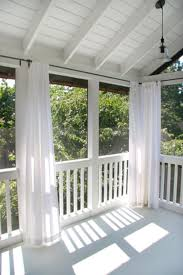 Vinyl Patio Curtains Outdoor by 8 Ways To Have More Appealing Screened Porch Deck Porch Decking