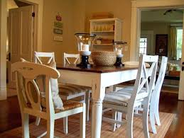 White Wood Dining Table Best Room Ideas House Design Interior As Of Interesting Art